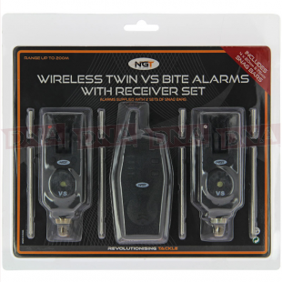 2pc Wireless Alarm-Transmitter Set package