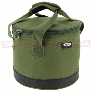 Bait Bin With Handles & Zip Cover front