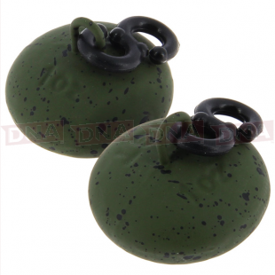 1.00oz NGT Green Saucer Smooth Back Lead