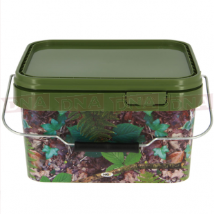 5 Litre NGT Square Camo Bucket