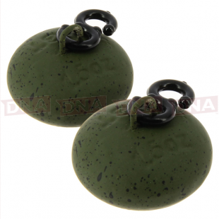 1.50oz NGT Green Saucer Smooth Back Lead