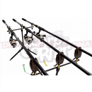 3 Rod Essentials Carp Fishing Set (Set 35)