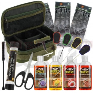 Fishing Tackle Set with Lead Bag Glugs Tools and More!
