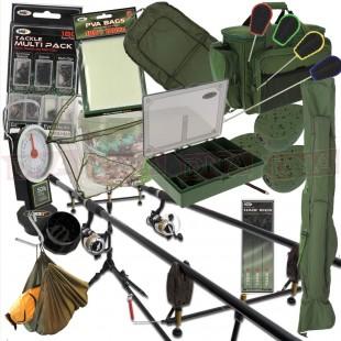2/3 Rod Carp Fishing Set Up (Set 31, 1 or 2 Rods)