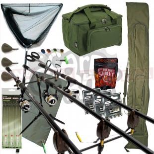 3 Rod Carp Fishing Set Up (Set 27)