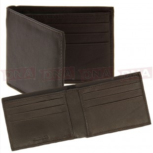 Luxury Super Soft Brown Leather Wallet Main