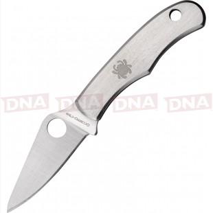 Spyderco SC133P Bug EDC Knife - Silver