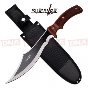Survivor Extreme Clip Fixed Blade