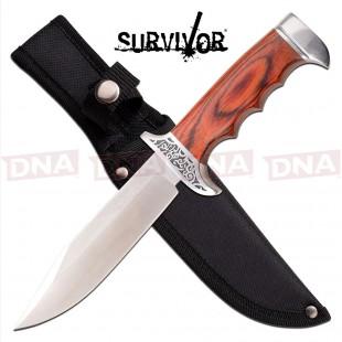Survivor Fixed Blade Bowie Knife