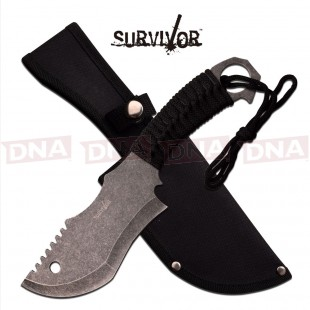 Survivor Modified Cleaver Fixed Blade