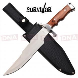 "Survivor 9.5"" Bowie Knife - Light Pakkawood"