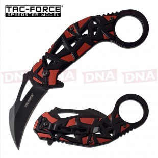 Tac-Force Red Spring Assisted Karambit