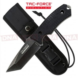 Tac Force Evolution TFE-FIX002-BK Rescue Tanto Fixed Blade Knife