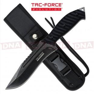 Tac Force Evolution TFE-FIX003-BK Massive Recurve Fixed Blade Knife
