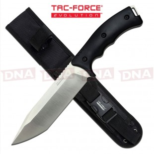Tac Force Evolution TFE-FIX004T-BK High Ground Tanto Fixed Blade