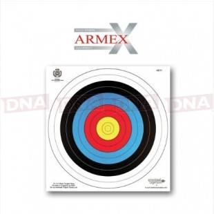 Armex Archery Target Faces 40x40cm Pack of 5