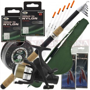 Telescopic Travel Fishing Set