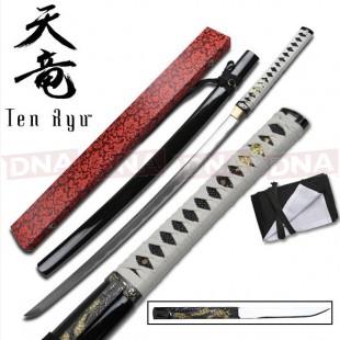 Ten Ryu Shirasaya Style Katana
