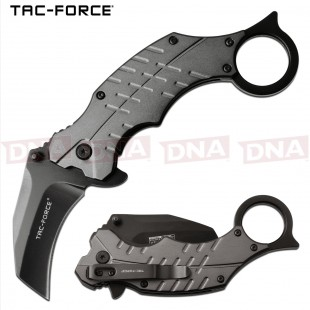 Tac Force TF-1020GY Spring Assisted Karambit