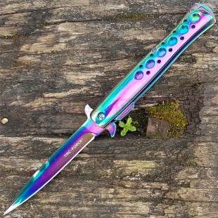 Tac-Force Rainbow Spring Assisted Stiletto