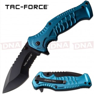 Tac-Force TF-993BL Kukri Style Spring Assisted Knife