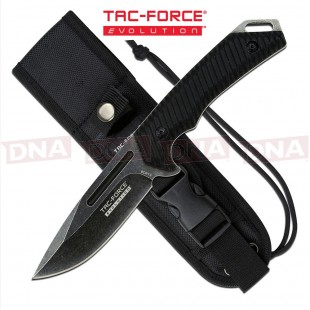 Tac Force Evolution TFE-FIX005-BK Fixed Blade Knife