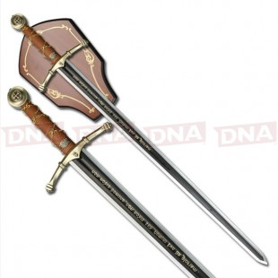 """Two-Tone SW-601 45"""" Medieval Sword"""