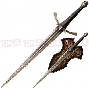 United Cutlery Hobbit Morgul Dagger with Plaque