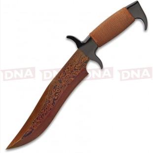 United Cutlery GH5089 Highlander Hellfyre Bowie Knife