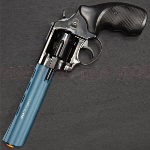 "Ekol Viper 6"" 9mm Black/Blue Blank Firing Pistol"