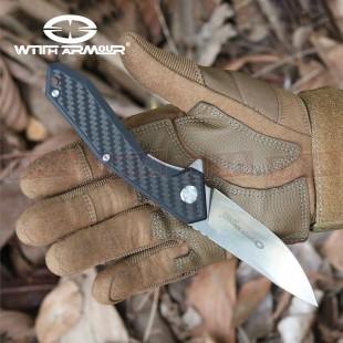 WithArmour WAR-082CFG Gent Linerlock Flipper Knife