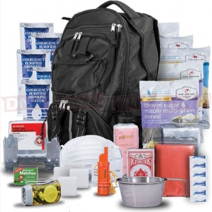Wise Company WISE03 Five Day Survival Pack Black