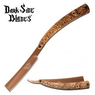 Dark Side Blades Straight Razor - Gold