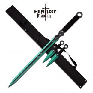 Fantasy Master Sword Set - Green