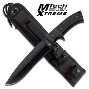 MTech Xtreme Sub-Hilt Military Fixed Blade Knife - Black