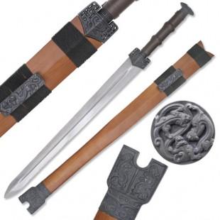 Oriental Straight Sword
