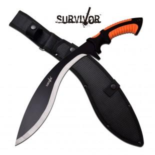 """Survivor 20"""" Kukri Machete with Guard"""