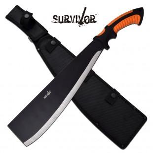Survivor Flat Tip Machete