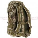 Golan™ 55L 800D Tactical Rucksack / Stuff-sack - Desert Digital Camo Back