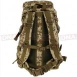 Golan™ 55L 800D Tactical Rucksack / Stuff-sack - Desert Digital Camo Straps