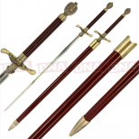 Arya's Needle Straight Sword with Sheath