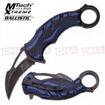 Blackwashed-Spring-Assisted-Karambit-Knife-Blue