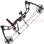 15-70lb Black 'Chikara' Compound Bow Set Full
