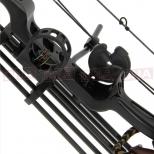 15-70lb Black 'Chikara' Compound Bow Set Sight