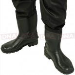Waterproof Green PVC Chest Waders Boots