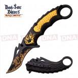 DSK-Compound-Knife-Gold