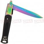 Golan Stiletto Rainbow Folding Knife