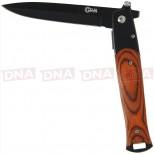 Golan Tactical Stiletto - Black Wood
