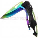 Golan GOL-888RB Rainbow Folding Knife