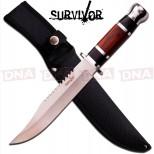 HK-781L Redwood Saw Back Fixed Blade Knife